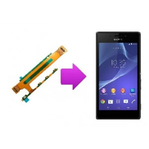 Changement nappe volume / power Sony Xperia T3 (M50W)