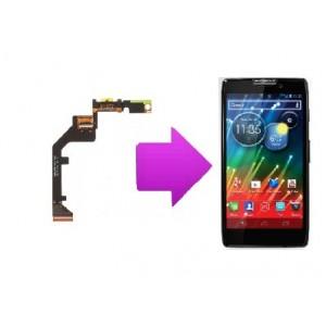 Changement nappe haut parleur Motorola RAZR HD