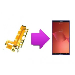 Changement nappe volume / power Sony Xperia Z3 (L55T)