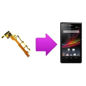 Changement nappe volume/power/micro  Sony Xperia Z
