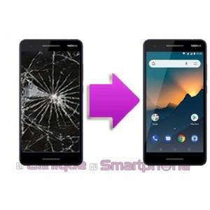 Changement LCD + Vitre tactile Nokia 2.1