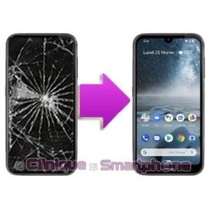 Changement LCD + Vitre tactile Nokia 4.2