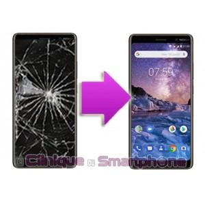 Changement LCD + Vitre tactile Nokia 7 Plus