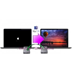 Réinstallation de système + Sauvegarde données Macbook Pro (2018)