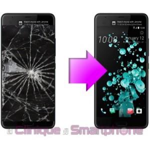 Remplacement Vitre tactile + Ecran LCD HTC U Ultra