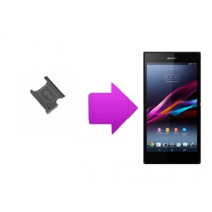 Changement Rack sim Sony Xperia Z Ultra