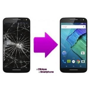 Remplacement Vitre Tactile + Ecran LCD Motorola X Style