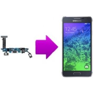 Remplacement connecteur de charge Samsung galaxy Alpha