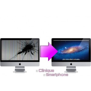 "Remplacement Dalle LCD iMac 24"" (A1225)"