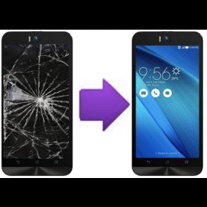 Remplacement Vitre Tactile + Ecran LCD Asus Zenfone Selfie (KL)
