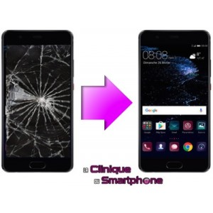 Remplacement Vitre tactile + Ecran LCD Huawei P10 Plus