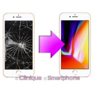 Remplacement bloc écran iPhone 8