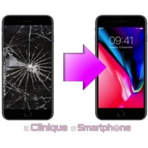 Remplacement bloc écran iPhone 8 Plus