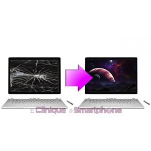 """Remplacement Vitre tactile + Ecran LCD pour Microsoft Surface Book 2 15.0"""""""