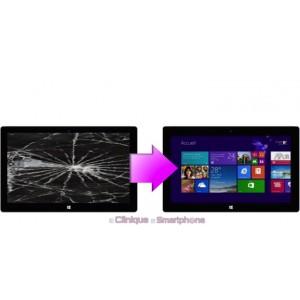 Remplacement Vitre tactile + Ecran LCD Microsoft Surface 2