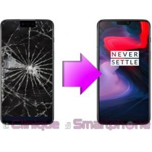 Remplacement Vitre tactile + Ecran Oled OnePlus 6