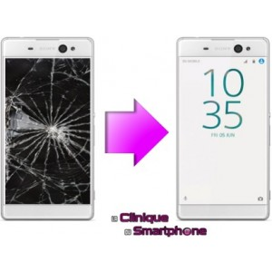 Remplacement Vitre Tactile + Ecran LCD Sony Xperia XA Ultra