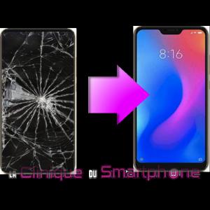 Remplacement Vitre tactile + Ecran LCD Xiaomi MI A2 Lite