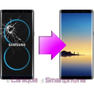 Remplacement Vitre tactile + Ecran LCD Galaxy Note 8