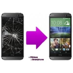 Remplacement Bloc Ecran (Tactile + LCD) HTC One M8S