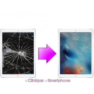 Remplacement Vitre Tactile + LCD iPad 5 (A1822/A1823)
