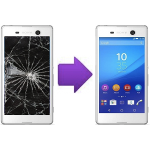 Remplacement Ecran LCD + Vitre Tactile Sony Xperia M5