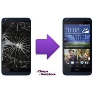 Remplacement Bloc écran (Vitre Tactile + Ecran LCD) HTC desire 626