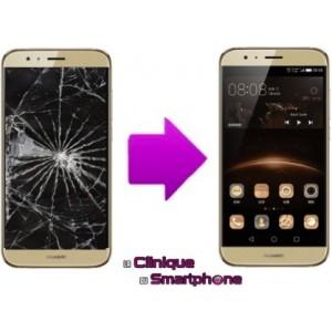 Remplacement Vitre tactile + Ecran LCD Huawei G8
