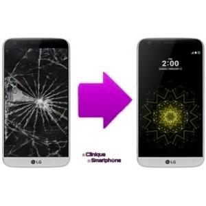 Remplacement Vitre Tactile + Ecran LCD LG G5