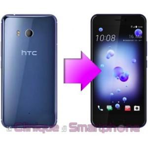 Remplacement Vitre arrière HTC U Play