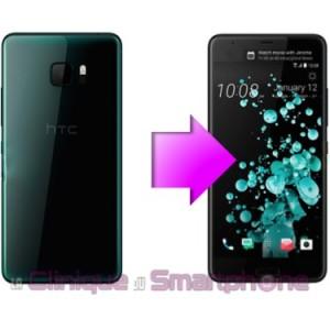 Remplacement Vitre arrière HTC U Ultra