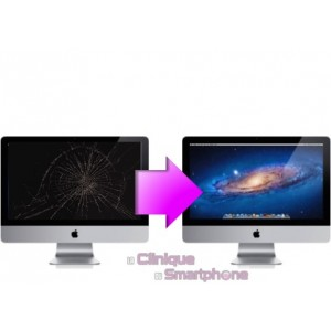 "Remplacement Bloc écran (Vitre + Ecran LCD) iMac 27"" (A1419) 2014-2015"