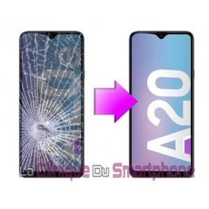 Remplacement bloc écran Samsung Galaxy A20 (A205F)