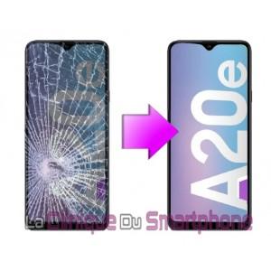 Remplacement bloc écran Samsung Galaxy A20E (A202F)