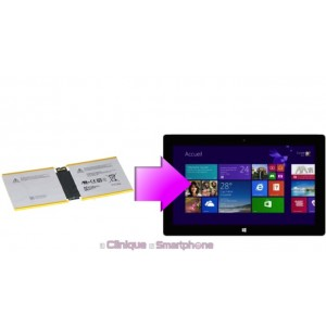 Remplacement batterie Microsoft Surface 2