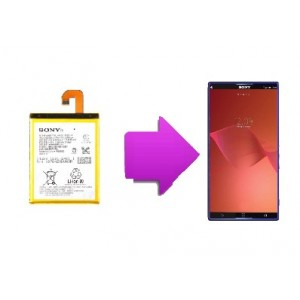 Changement batterie Sony Xperia Z3 (L55T)