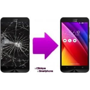 Remplacement Bloc écran (Vitre Tactile + Ecran LCD) Asus Zenfone Max CZ550KL
