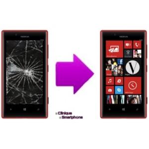 Remplacement Vitre Tactile + Ecran LCD Nokia Lumia 720