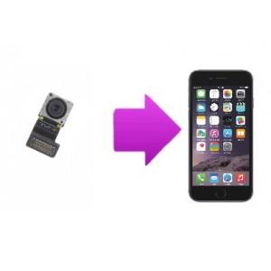 Changement caméra arrière iPhone 6
