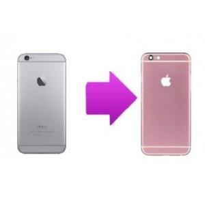 Changement coque complète arrière iphone 6 (Rose ou Bleu)