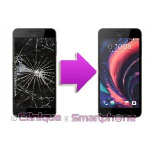 Remplacement bloc écran tactile + LCD pour  HTC 10 life style