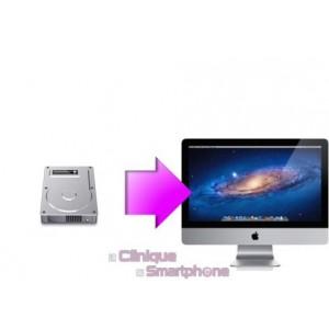 Remplacement Disque Dur Interne iMac, à partir de: