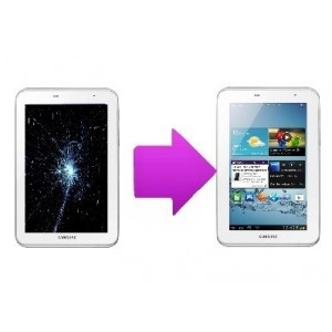 Remplacement Vitre Tactile Samsung galaxy Tab 3 Lite 7""