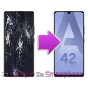 Remplacement bloc écran Samsung Galaxy A42