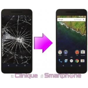 Remplacement Vitre Tactile + Ecran LCD Google Nexus 6P