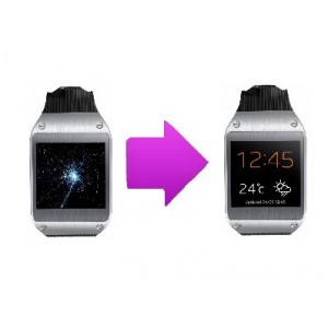 Changement bloc écran lcd  SAMSUNG Galaxy Gear