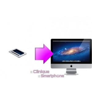 Changement SSD iMac à partir de