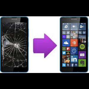 Remplacement Vitre Tactile + Ecran LCD Microsoft Lumia 640 LTE / XL