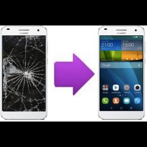 Changement Vitre tactile + Ecran LCD HUAWEI Ascend G7