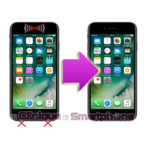 Réparation problème son écouteur/HP/micro iPhone 7 / 7 Plus